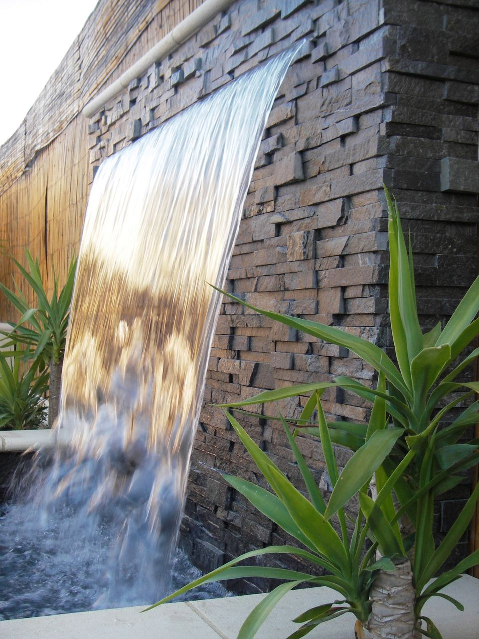 Decorative Water Feature Construction
